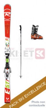 Pack EXCELLENCE : Ski + Boots